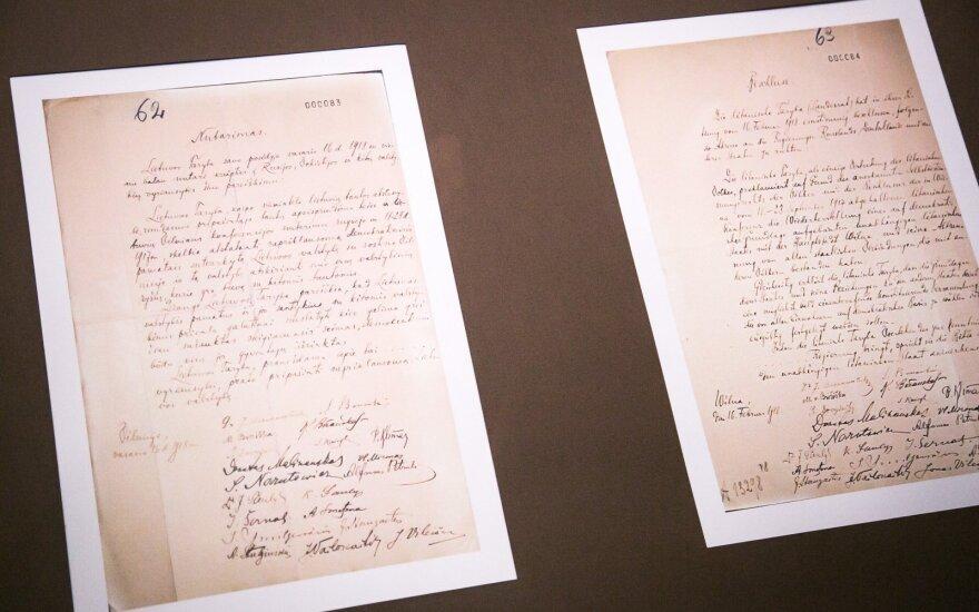 Главы МИД Литвы и Германии подпишут договор о передаче акта 16 февраля
