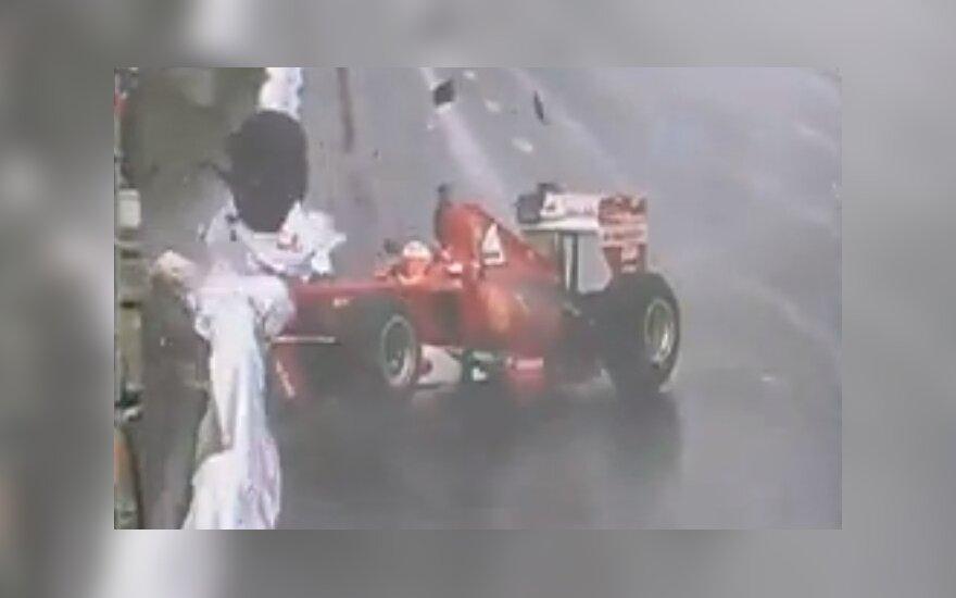W Moskwie rozbił się samochód Formuły 1