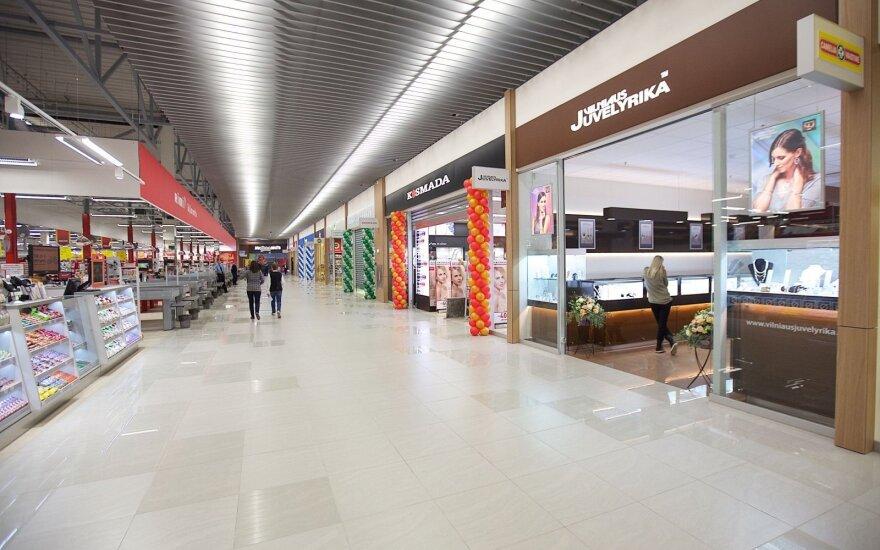 Эксперт: в торговых центрах Вильнюса скоро не хватит места