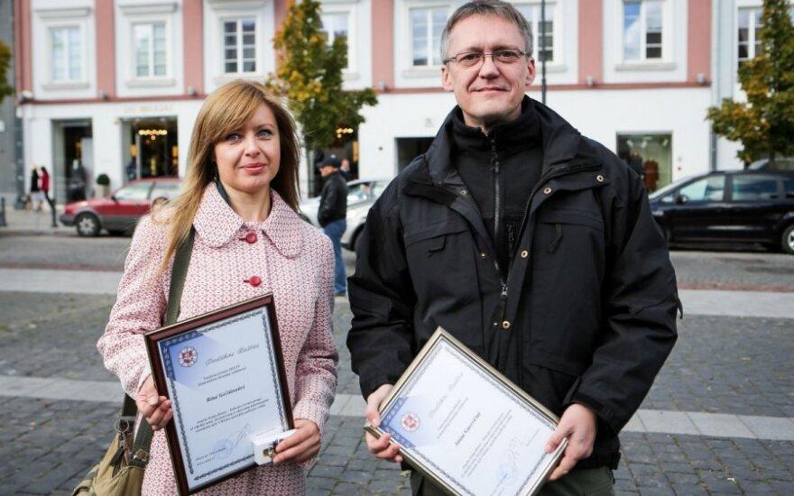 Rita Gečiūnaitė ir Ainis Gurevičius
