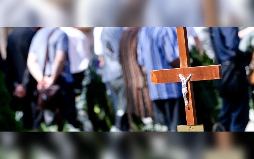 Sergejaus Novikovo laidotuvės