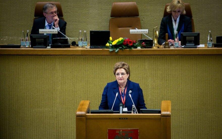 Граужинене: у восточных партнеров должна быть возможность стать членами ЕС