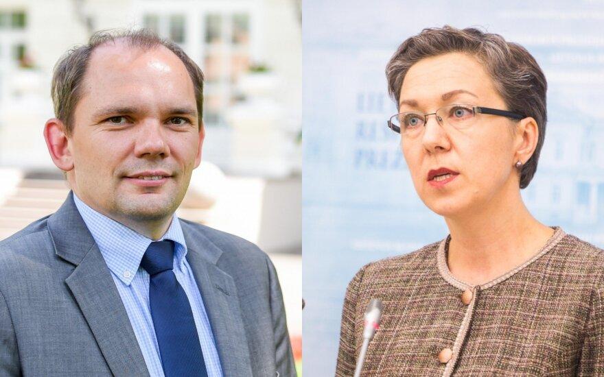 Nerijus Aleksiejūnas, Lina Antanavičienė