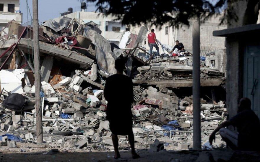 Karinė Izraelio operacija Gazos Ruože
