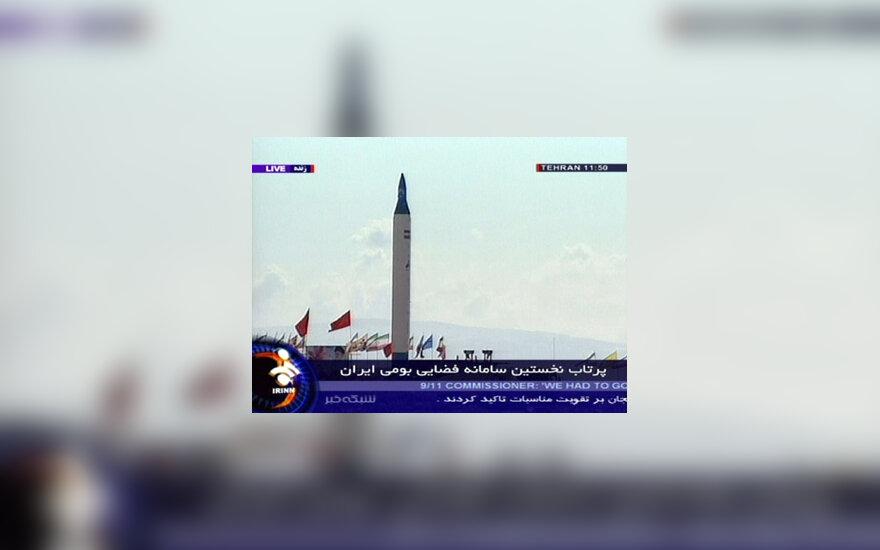 Iranas paleidžia raketą