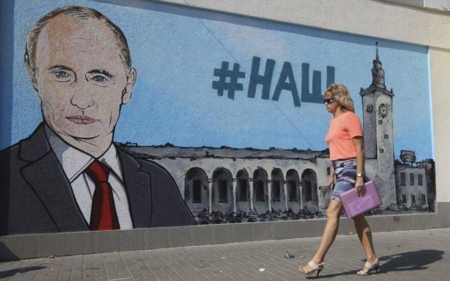 Vladimiras Putinas Kryme