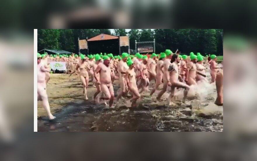 Финны побили рекорд по количеству одновременно купающихся голышом