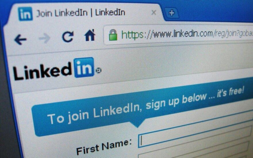 Отчет ДГБ: китайская разведка ищет цели в Литве через социальную сеть LinkedIn