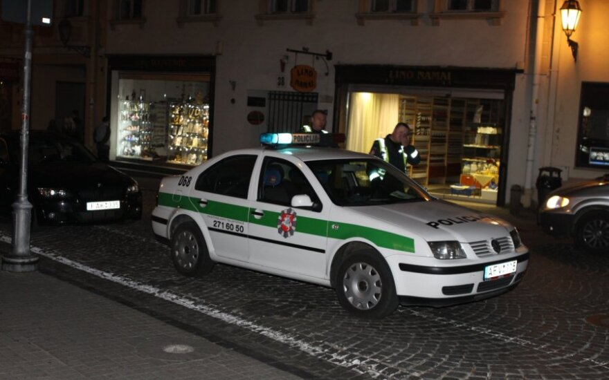 Ночью на улице лежал работник посольства Польши