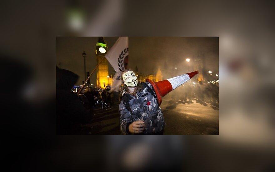 Антикапиталисты в Лондоне схлестнулись с полицией