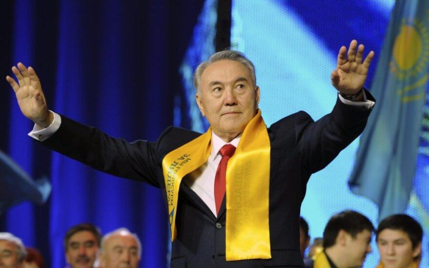 Kazachstano prezidentas N.Nazarbajevas
