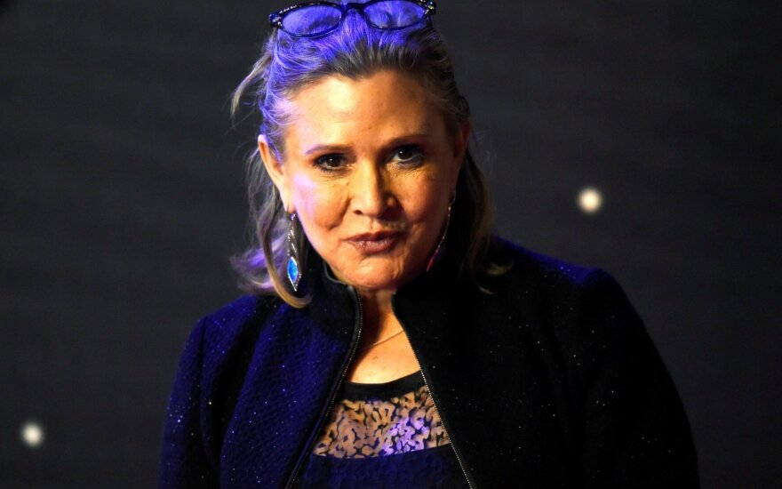 Aktorė Carrie Fisher
