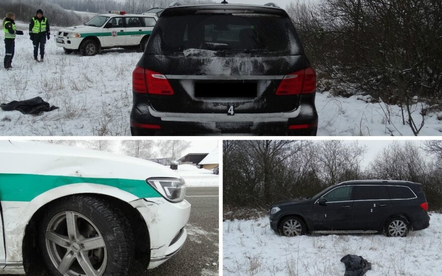 Погоня: беглец на украденном автомобиле сбил полицейского