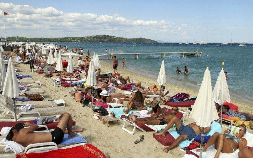 Pampelonne paplūdimys