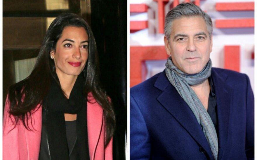 Невеста Джорджа Клуни отказалась вести расследование в секторе Газа