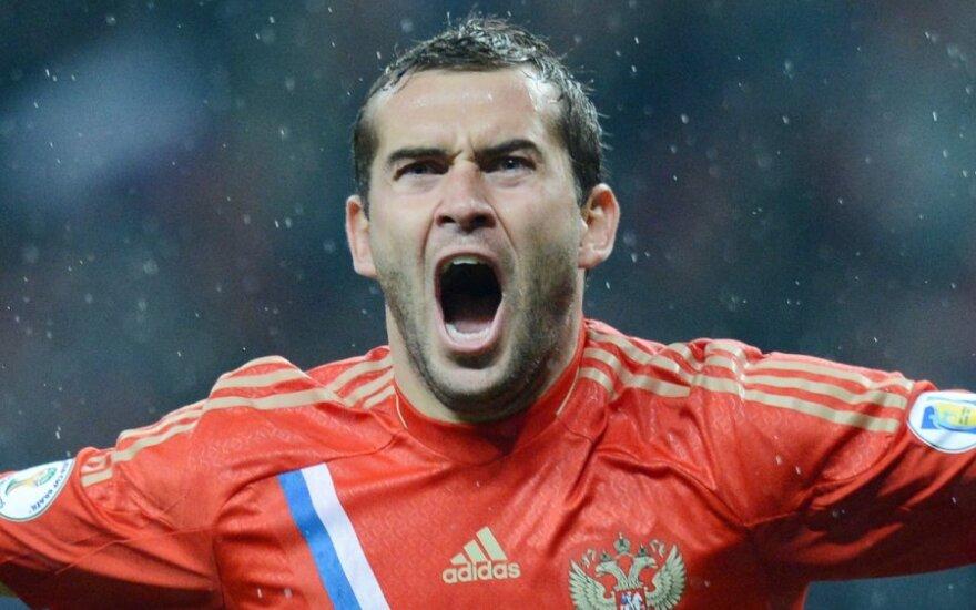Завершил карьеру лучший бомбардир в истории российского футбола Кержаков