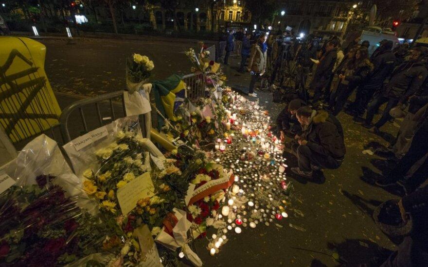 Paryžius po kruvinų teroristų išpuolių