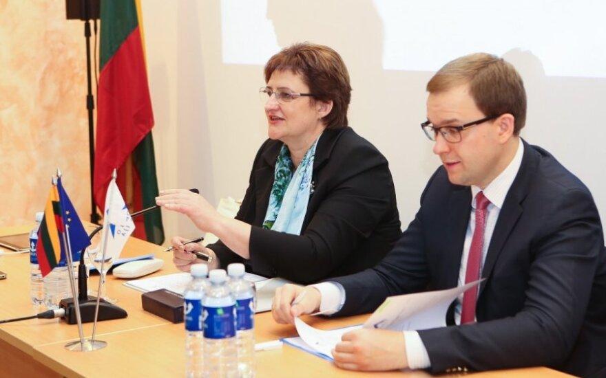 Loreta Graužinienė i Vytautas Gapšys