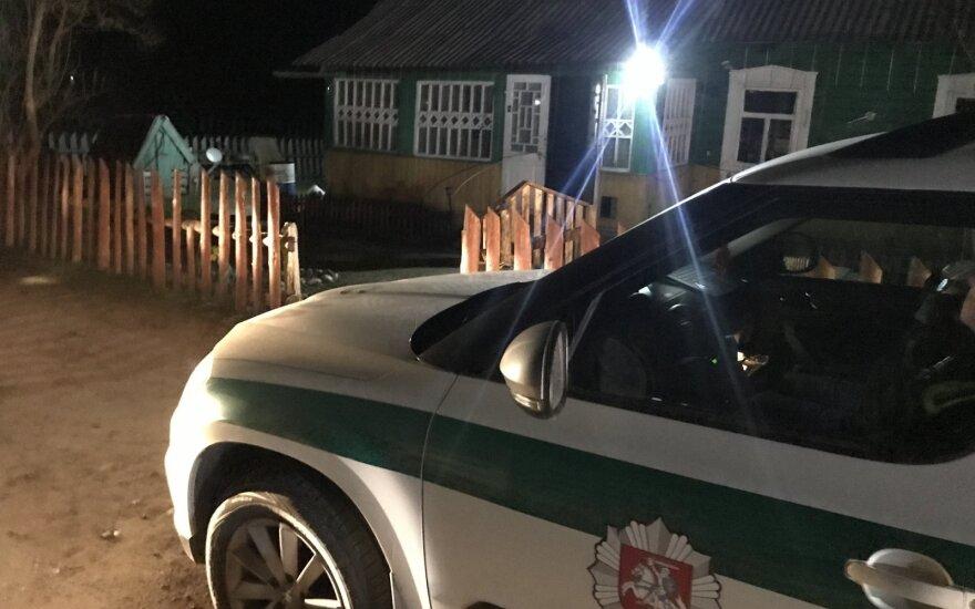 В Вильнюсском районе совершено убийство: подозреваемый задержан на месте преступления