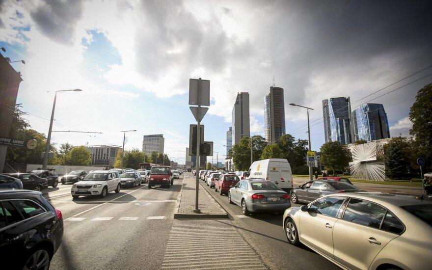 Вильнюс: у водителей появятся новые проблемы