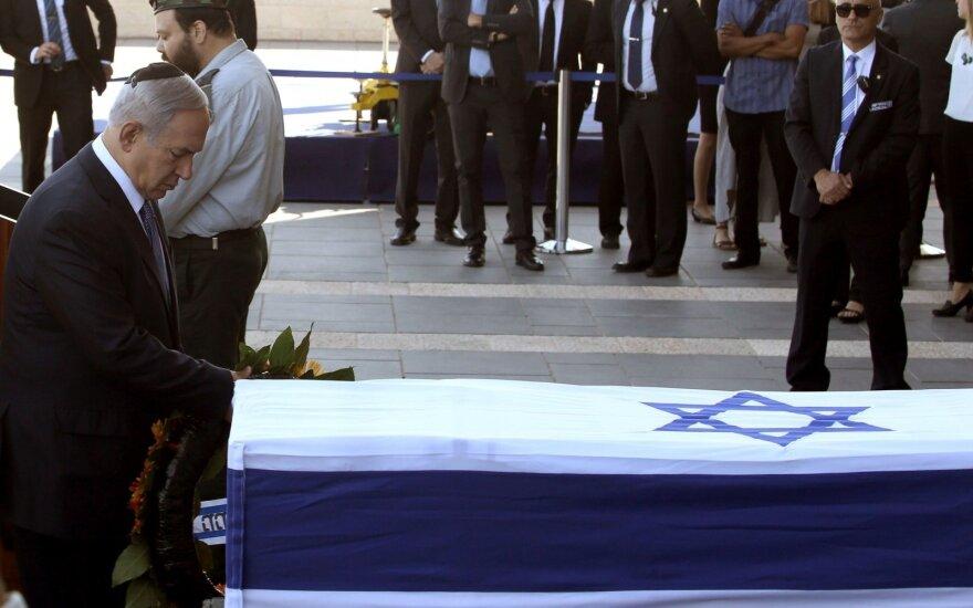 В Иерусалиме похоронили экс-президента Израиля Шимона Переса