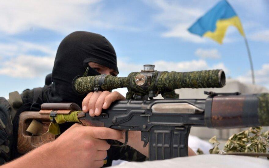 Украина: над Славянском поднят флаг Украины