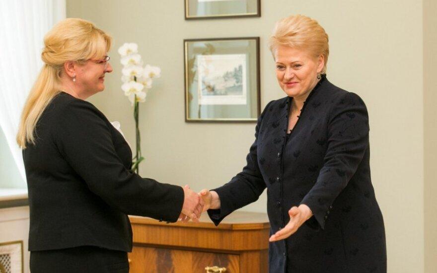 После встречи с Грибаускайте – хорошее известие работающим