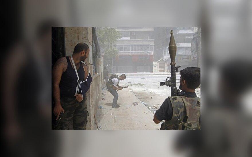 Фоторепортаж: сирийские повстанцы против армии Асада