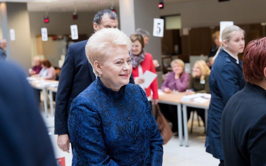 Президент Литвы поздравила Науседу с победой на выборах