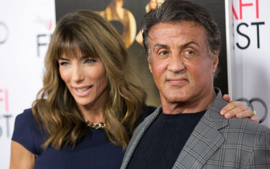 Sylvesteris Stallone ir Jennifer Flavin