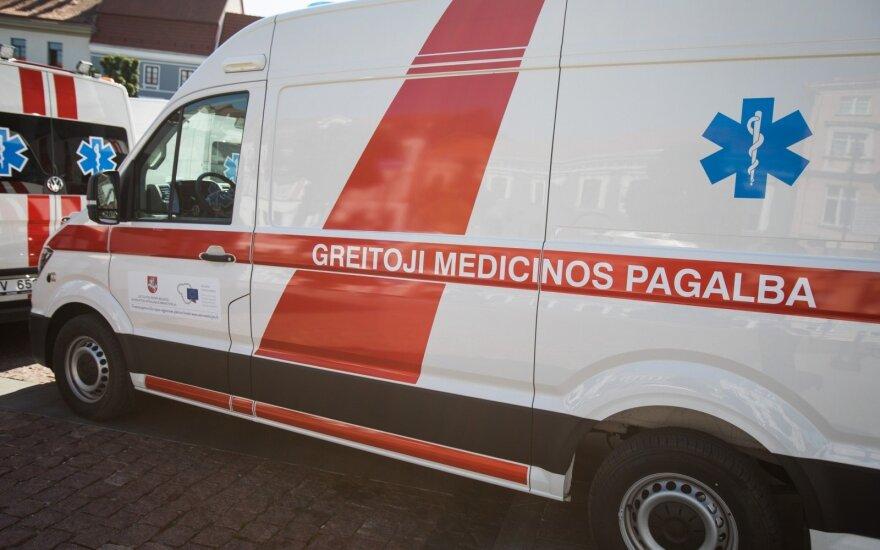 В больницу Вилкавишкиса доставлен мужчина с сильными ожогами тела