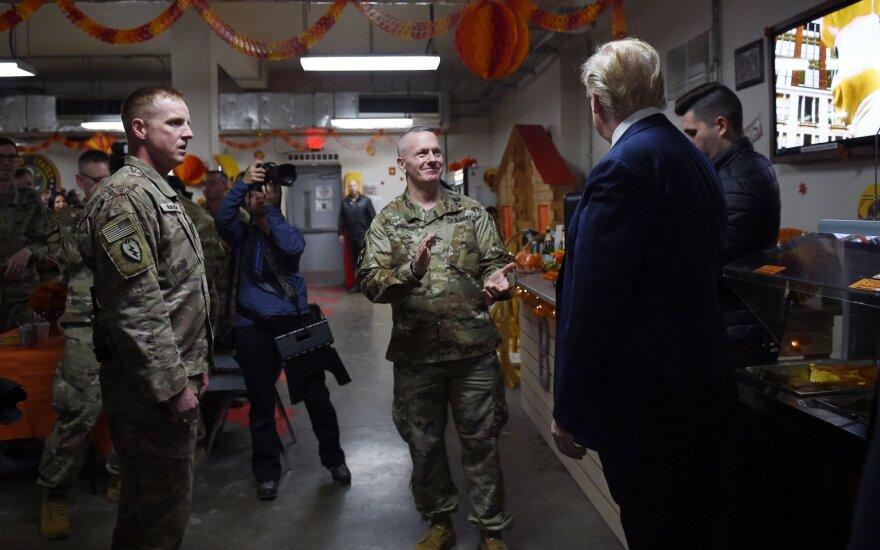 Трамп неожиданно приехал в Афганистан на День благодарения