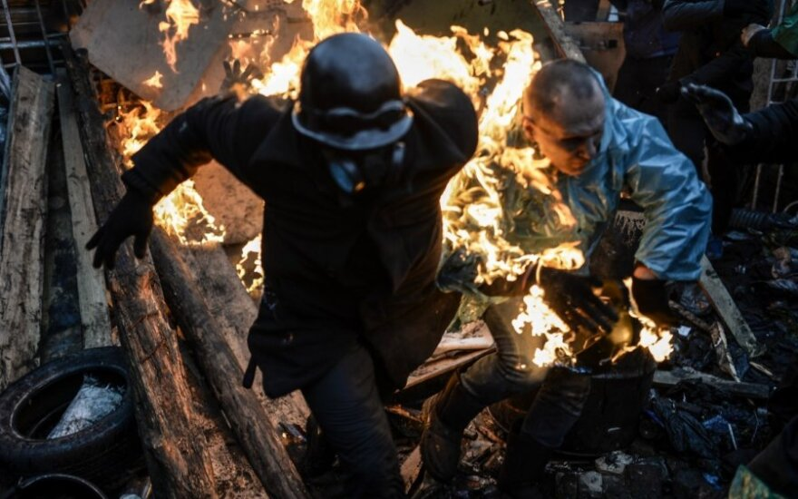 Protestai Kijeve