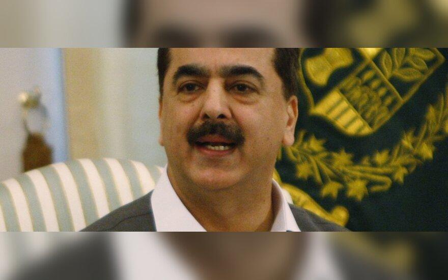 Pakistano premjeras Yusufas Raza Gilani