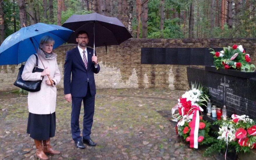 Dzień Zagłady Litewskich Żydów. Foto: Ambasada RP w Wilnie