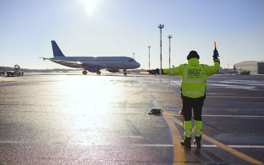 Вильнюсский аэропорт за 11 млн евро расширит рулежные дорожки