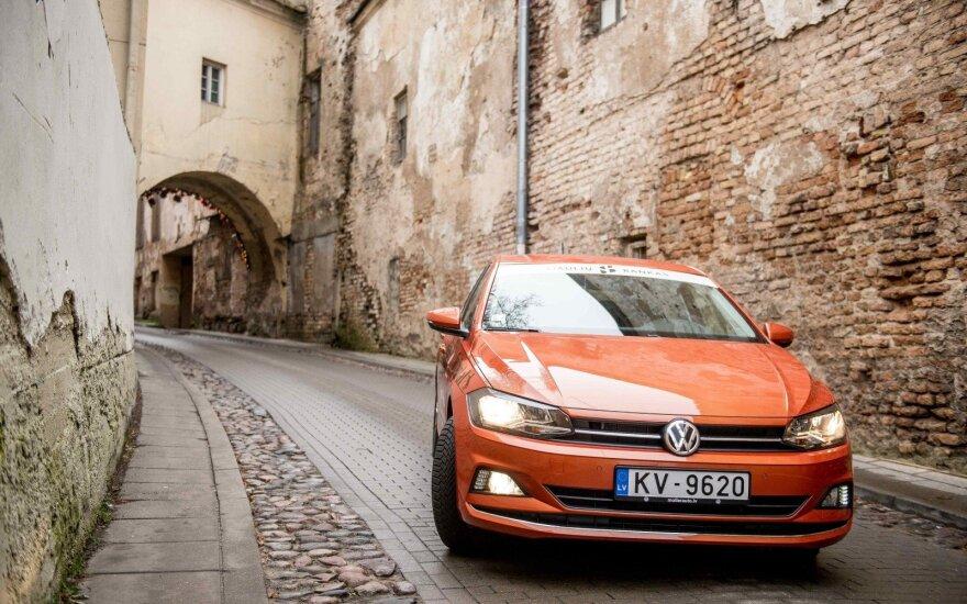 В Литве чаще всего покупают автомобили Volkswagen