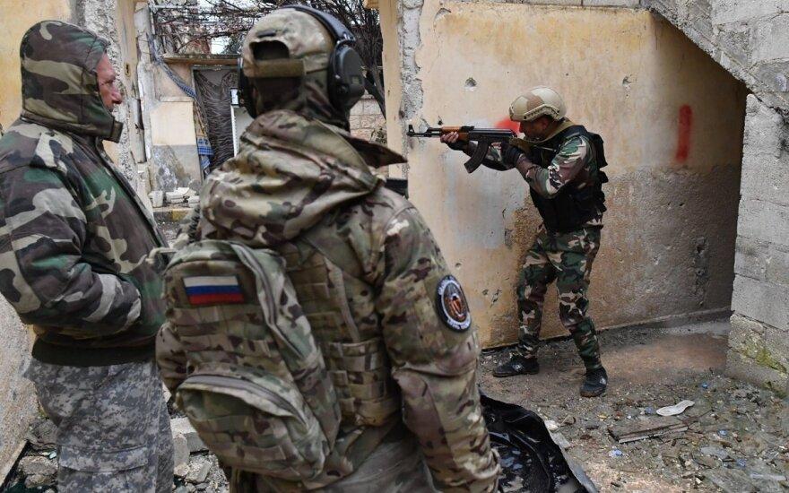 В Сирии действует ЧВК с российско-украинскими корнями