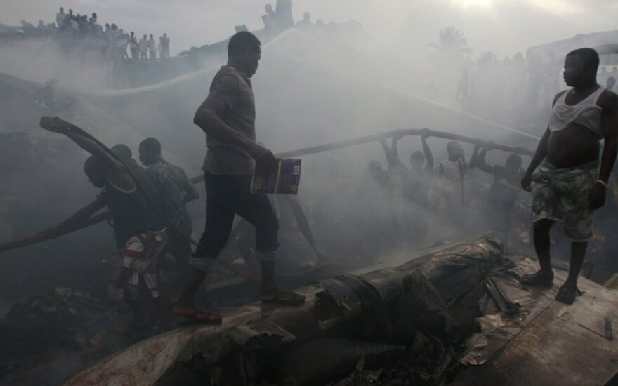 В Нигерии после крушения нефтяного танкера погибли 92 человека