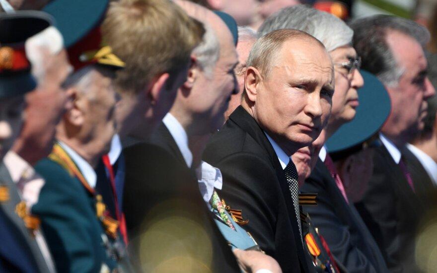Maskvoje – Putino karinis paradas