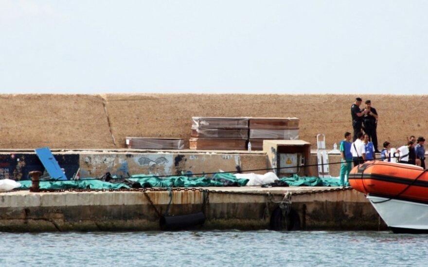 У берегов Италии затонуло судно с 500 беженцами
