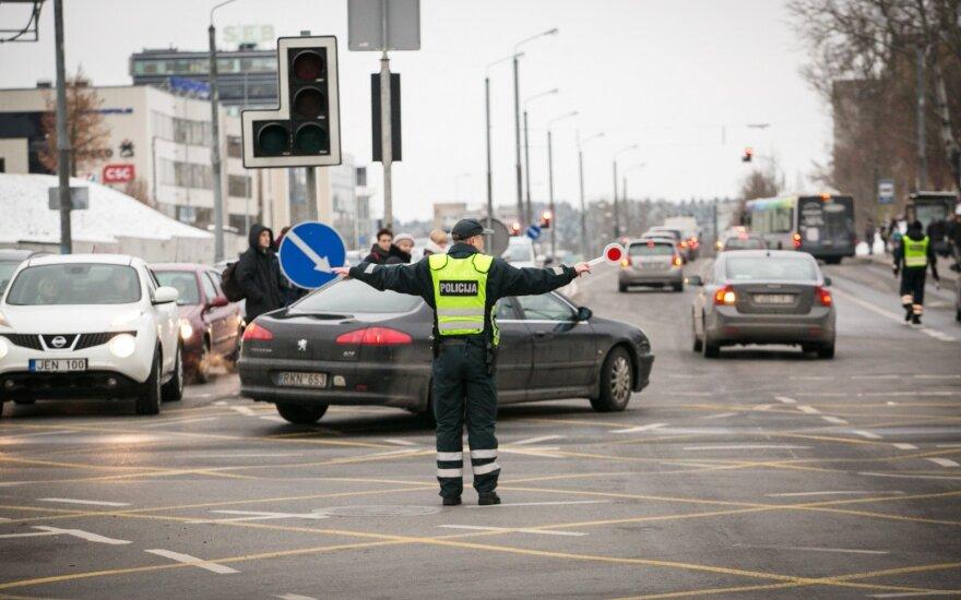 Изменения - на одном из самых оживленных перекрестков Вильнюса