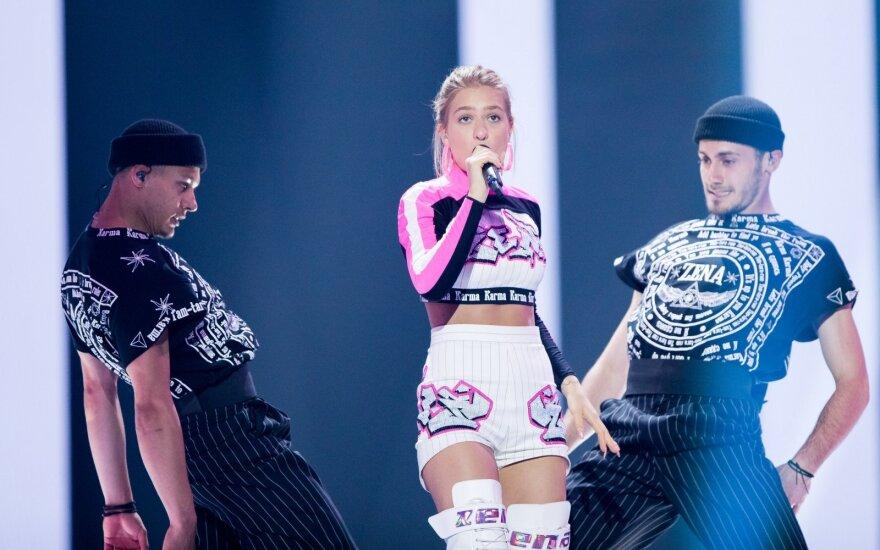 Eurovizijos finalas. Baltarusija: ZENA – Like It