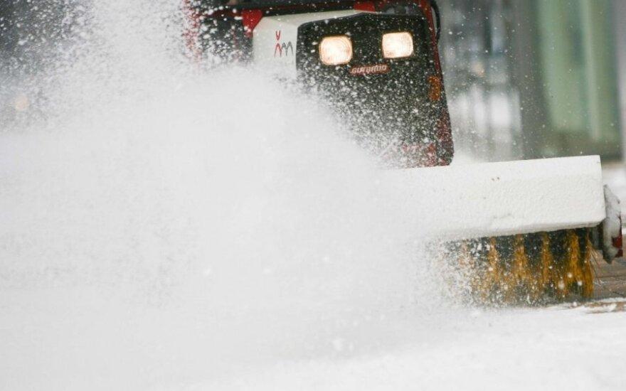 В Челябинской области из-за снегопада и урагана отключилось электричество