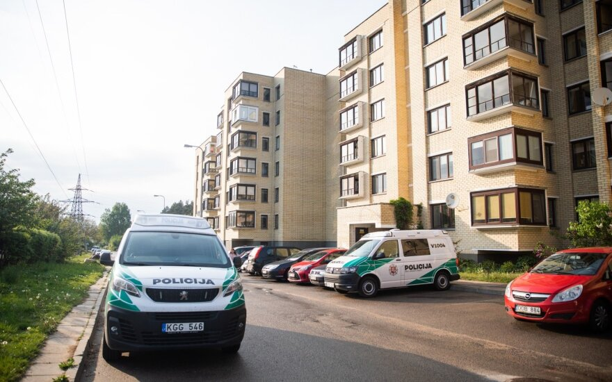 В пятницу вечером в Вильнюсе обнаружили тело мужчины