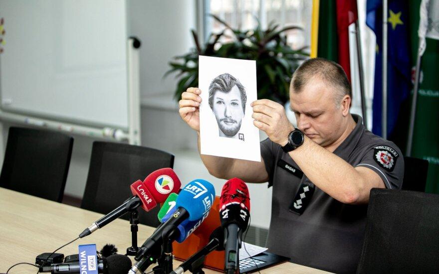Жители Литвы звонят в полицию, но личность разыскиваемого мужчины пока не установлена