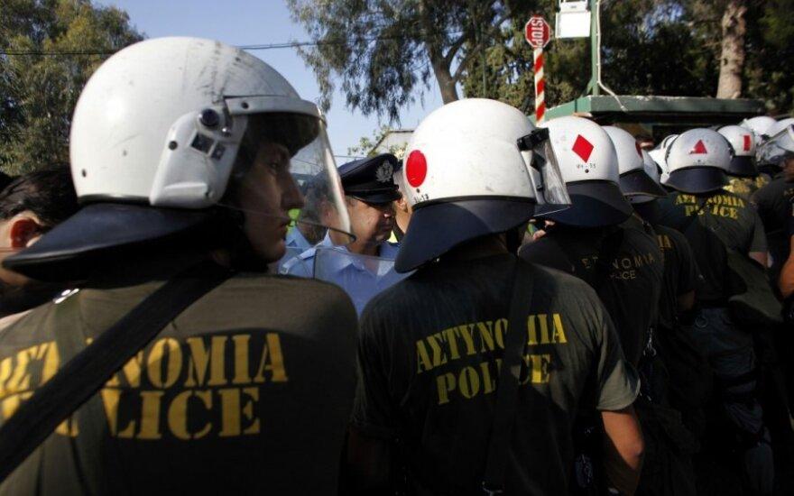 Греческая полиция арестовала двух членов парламента
