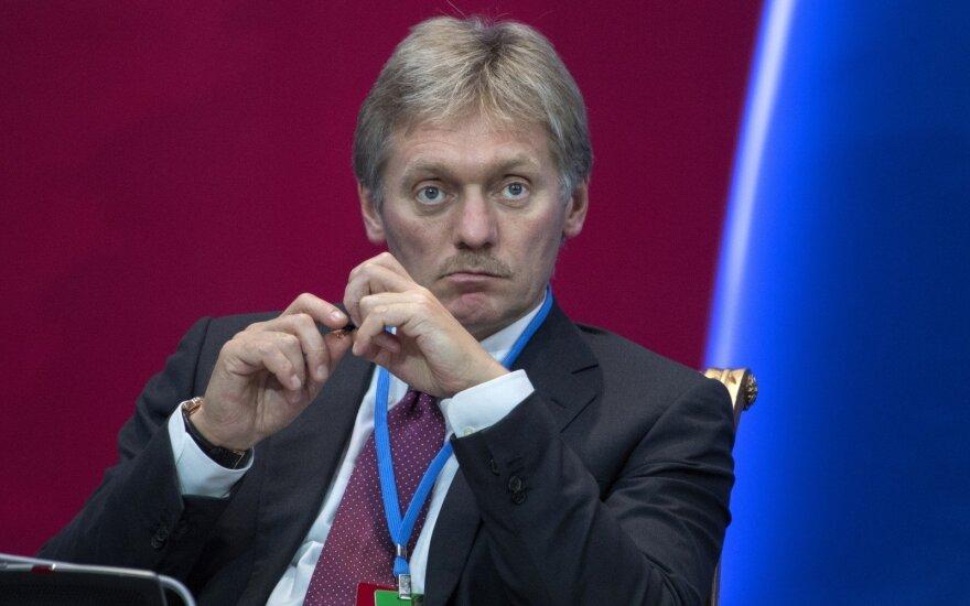 Песков: Кремль не занимается организацией митингов после взрыва