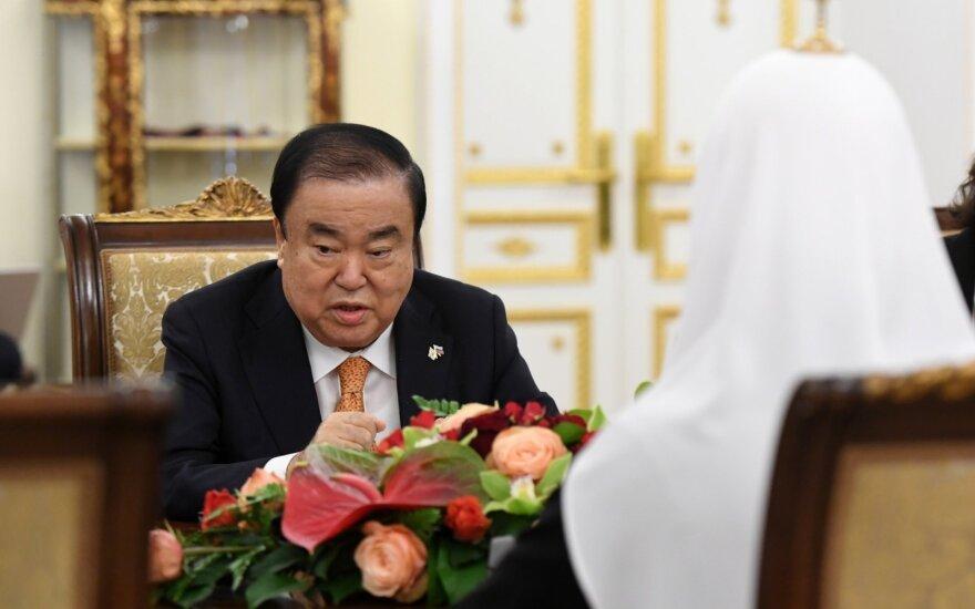 В Вильнюс прибыл спикер парламента Кореи