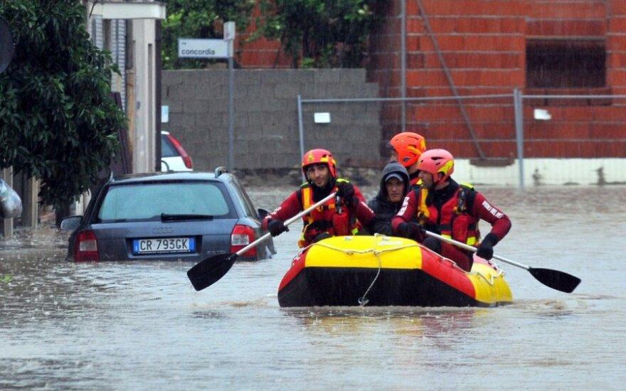 Sardinija po audros